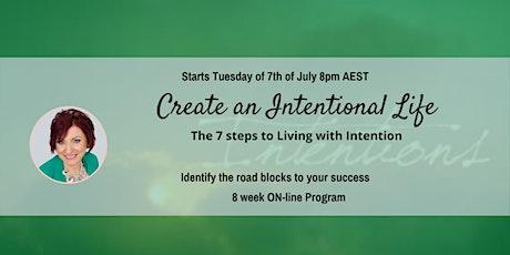 Create an Intentional Life- 8 week Program tickets