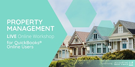 Property Management Workshop for QuickBooks Online Users tickets