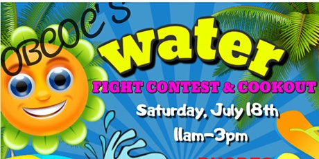 Water Wars - Water Fight Contest & Cookout tickets