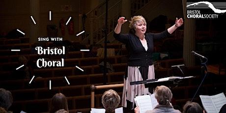 Sing with Bristol Choral - excerpts from Verdi Requiem - online event tickets