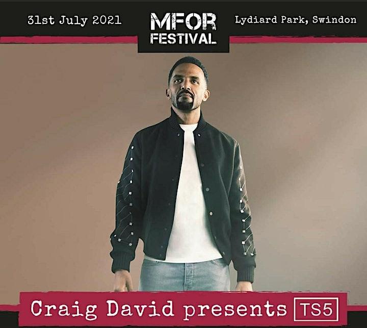 MFor 2021- Craig David, Sigala, RAYE, Ella Henderson & more image