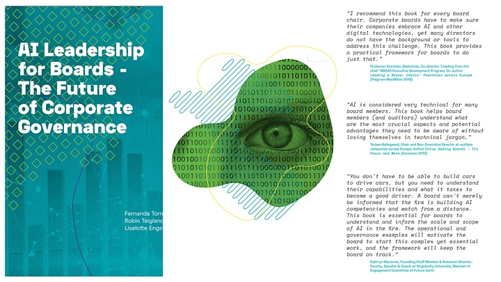 AI Leadership for Boards - Book Launch image