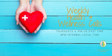Neamah's Weekly Health & Wellness Q&A Calls tickets