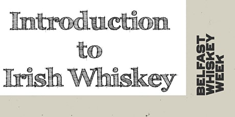 Introduction to Irish Whiskey tickets