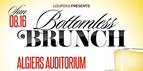 Bottomless Brunch tickets