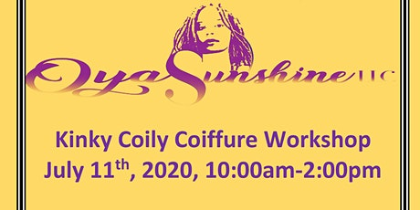 Kinky Coily Coiffures Workshop tickets