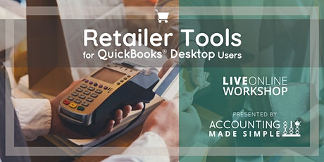 Retailer's Tools for QuickBooks Desktop Users tickets