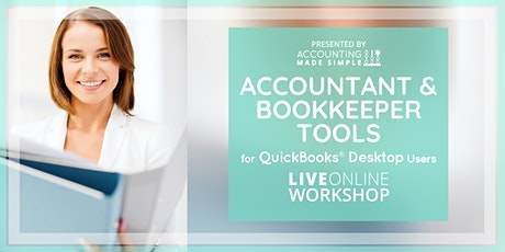 Accountant & Bookkeeper Tools  tickets
