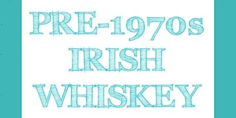 Pre-1970s Irish Whiskey tickets
