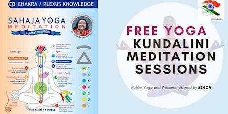 SAHAJ YOGA - KUNDALINI MEDITATION SESSIONS tickets