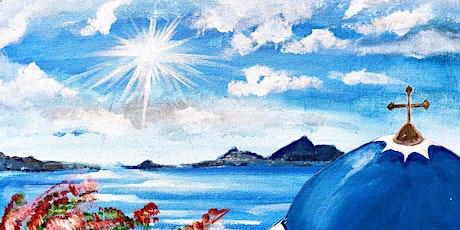 Paint & Sip @ the Studio - Greece tickets