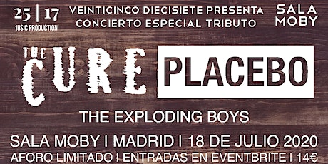CONCIERTO ESPECIAL TRIBUTO A THE CURE Y PLACEBO EN MADRID (SALA MOBY) entradas