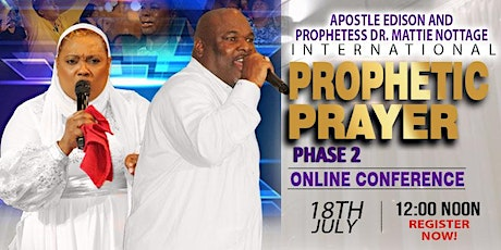 INTERNATIONAL PROPHETIC PRAYER ONLINE CONFERENCE 2020 - PHASE 2 tickets