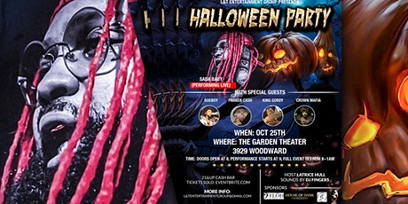 Halloween Party- Sada Baby Live tickets