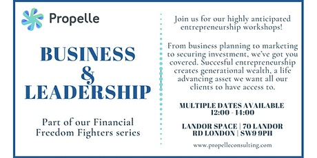 Financial Freedom Fighters - Business & Leadership tickets