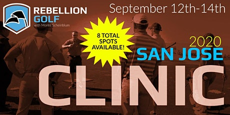 SAN JOSE Rebellion Golf Clinic with Monte Scheinblum tickets
