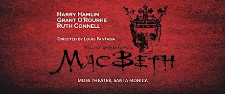 William Shakespeare's MacBeth tickets