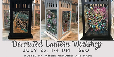Decorated Lantern Workshop tickets