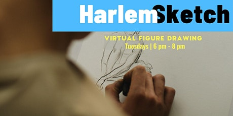 Harlem Sketch at Home - Virtual Figure Drawing Class tickets