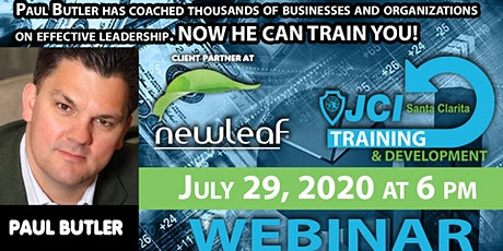 JCISC July Training - With Paul Butler - July 29, 2020 tickets