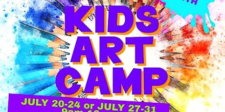 Kid's Art Camp tickets