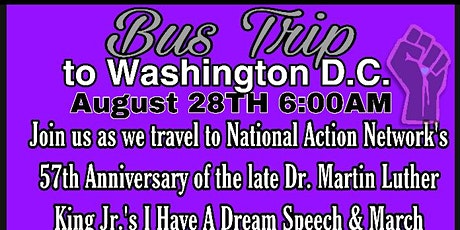 On The Right Track's Bus Trip To Washington D.C.: FREE REGISTRATION ONLY tickets
