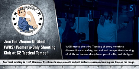 Women of Steel - Women's Only Shooting Club - Tuesday,  August 18 tickets