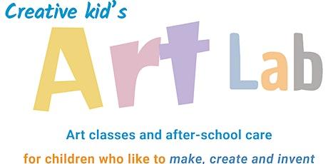 Creative Kid's Art Lab - July Winter Holidays 2020 tickets