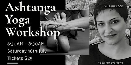 Ashtanga Yoga Workshop tickets
