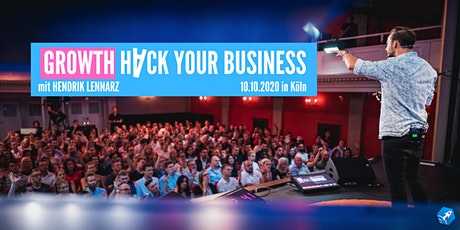 Growth Hack your business - Live! Tickets