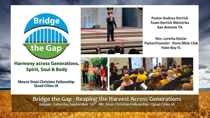 Bridge the Gap Conference image