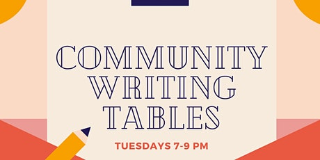 Community Writing Tables tickets