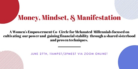 Money, Mindset, and Manifestation tickets