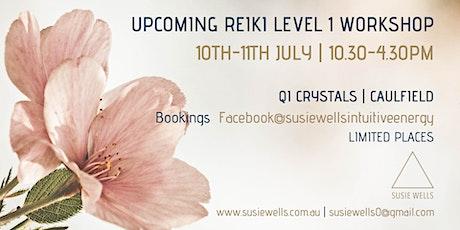 Traditional Usui Reiki 1 Workshop tickets