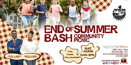 End of the Summer Bash tickets