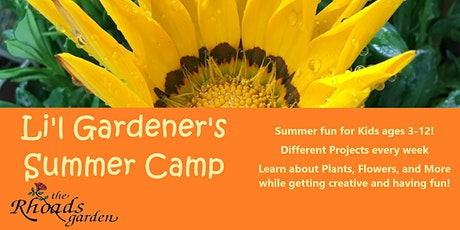 Li'l Gardener Summer Camp: Flower Power Painting tickets