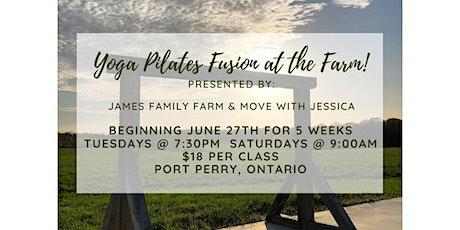 Yoga Pilates Fusion at the Farm! tickets
