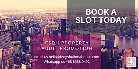 Online  Fengshui property Audit Promotion tickets