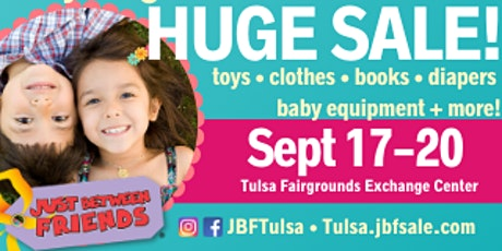 JBF TULSA HUGE SALE ~ Tulsa Expo Square ~ Sept 17-20 tickets