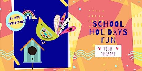 FLAPPY ADVENTURE - school holidays fun workshop tickets