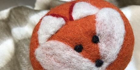 Foxy Wool Dryer Ball Workshop tickets