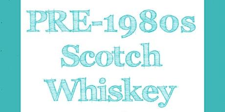 Pre-1980s Scottish Whisky tickets