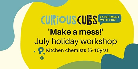 Kitchen chemists (5-10yrs) - 11:30am tickets