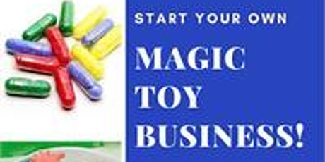 Build a Biz Kids! 7-10 yrs-Start a Magic Toy Business! with Leah Coss tickets
