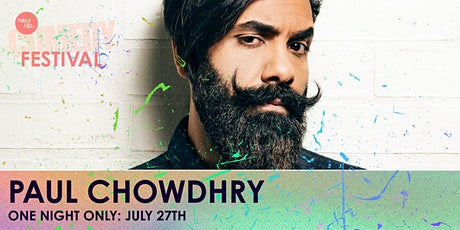 Paul Chowdhry // The NextUp Comedy Festival - Show 27 tickets