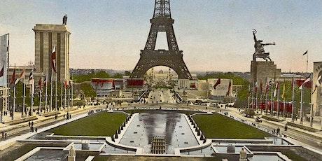 Visioconférence: Expositions de Paris et leurs vestiges billets