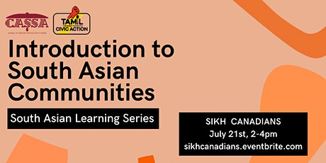 Introduction to South Asian Communities (Sikh Canadians): Learning Series tickets