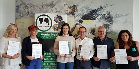 Online Mental Health First Aid Course (MHFA England Accredited) biglietti