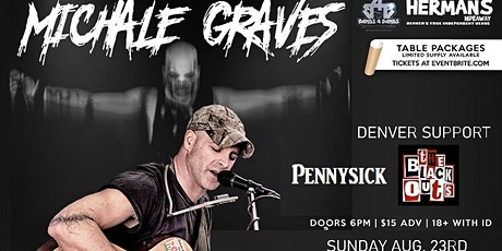 Michale Graves (Misfits Acoustic) Postponed  tickets