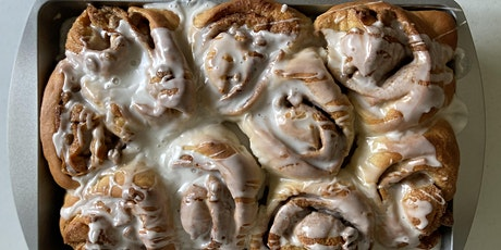 Annie's Signature Sweets Virtual VEGAN Cinnamon Rolls baking Class!! tickets